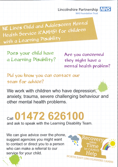 North East Lincs - Child and adolescent mental health services (NEL CAMHS)